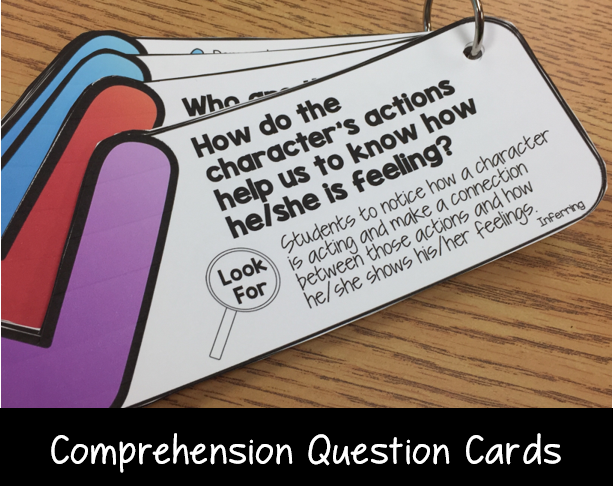 comprehension questions to use with any book