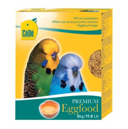 Cede Äggfoder Parakit 5kg Eggfood Budgies Parakeet
