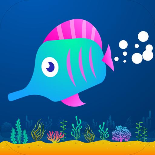 魚 2015年を実行 動作 App LOGO-硬是要APP