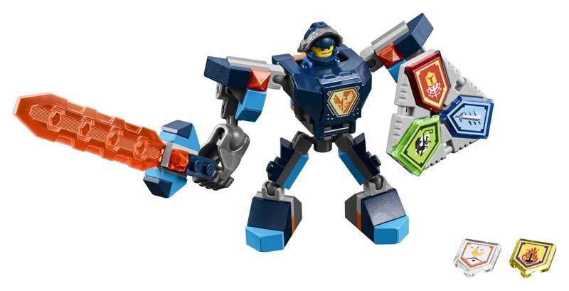 Contenido de Lego® 70362 Clay con Armadura de combate