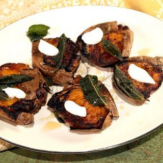 Crispy Sweet Potatoes with Brown Butter and Sage Recipe