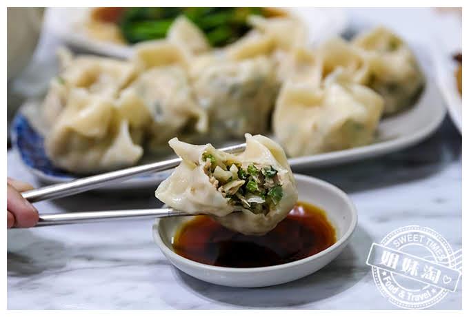 高雄何媽媽麵坊韭菜海鮮水餃