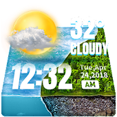Tải Hourly Weather Widget for 2018 APK