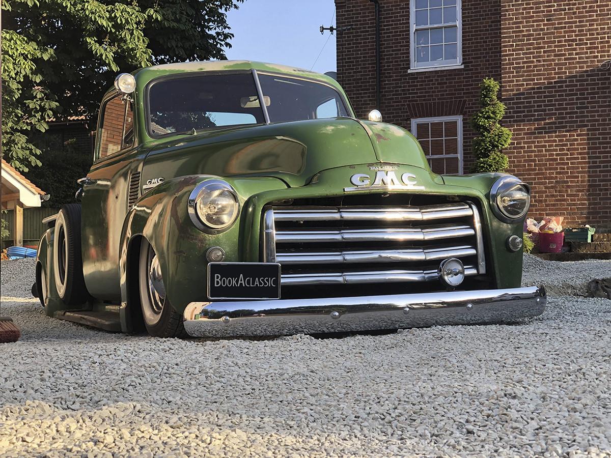 GMC 100 Pickup Hire Kent