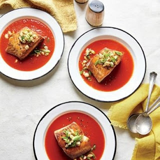 Weight Watchers Salmon In Smoky Tomato Broth