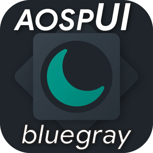 aospUI BlueGray,Substratum/Synergy Dark theme