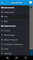 Screenshot of Heartservice