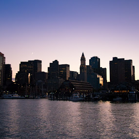 Boston by Daniel Olsen - City,  Street & Park  Skylines ( vacation, new england, boston, autumn, 2010 )