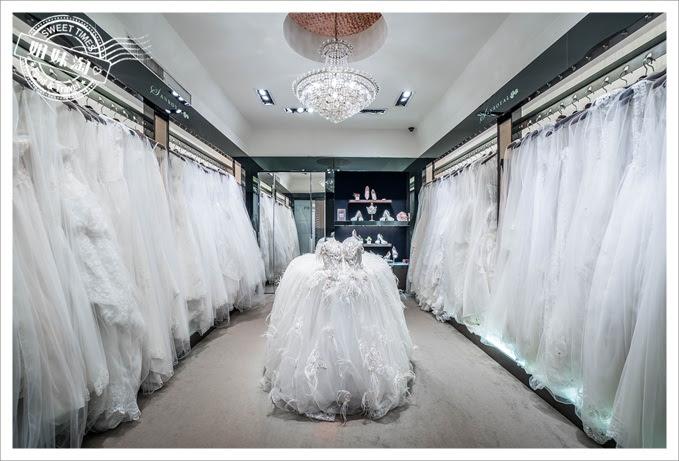 聖羅雅婚紗國際品牌禮服區