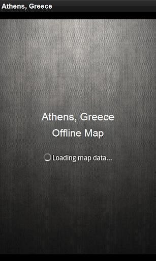 離線地圖 雅典,希臘