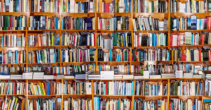Walls and walls of books at The Strand.  Photo: Christopher Bonanos.