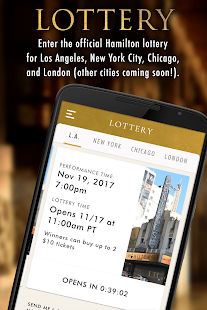 Hamilton — The Official App- screenshot thumbnail
