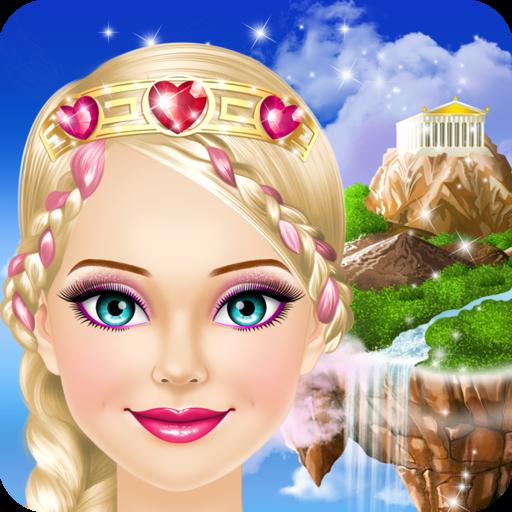 Fantasy Princess Dress Up Icon