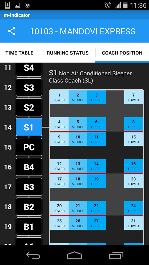 Screenshots of Mumbai Local Train Timetable for iPhone