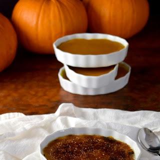 Pumpkin Creme Brulee