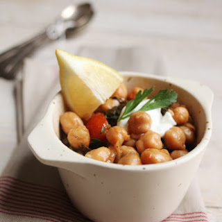 Chick Pea Stew.