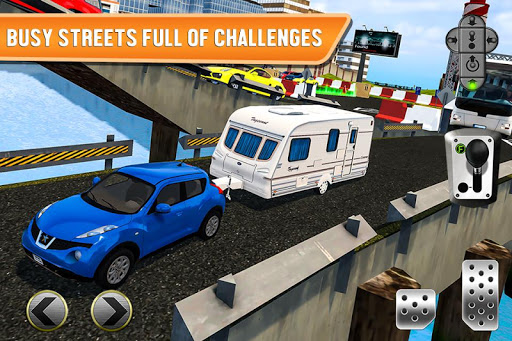 Ferry Port Trucker Parking Simulator  captures d'u00e9cran 1