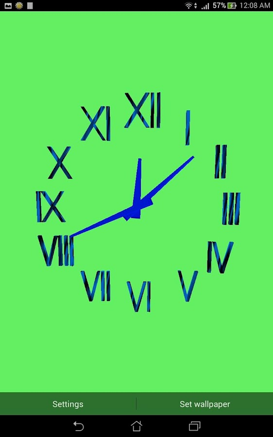3D CLOCK LWP - Android Apps on Google Play