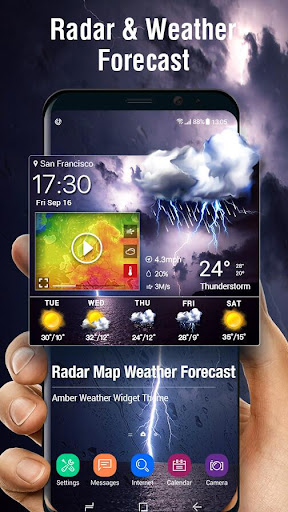 Real-time Weather Report & Live Storm Radar 10.3.5.2353 screenshots 1