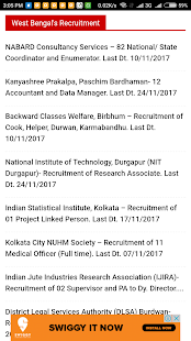 All India Job News Portal - náhled