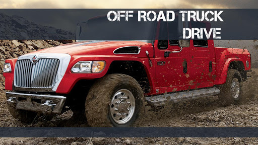 OFF ROAD TRUCK DRIVE