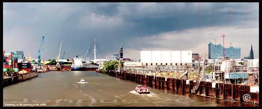 Photo: Hamburg, as the gateway to the world.