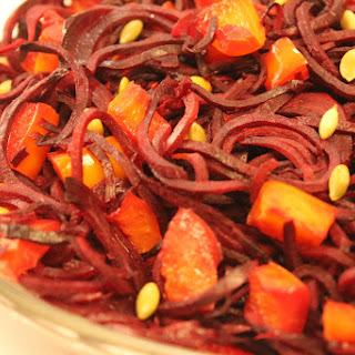 Balsamic Spiralized Beets Recipe
