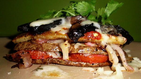 Vegetarian Potato Stacks Recipe