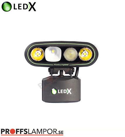 Lamphuvud LEDX Mamba 4000 X-pand