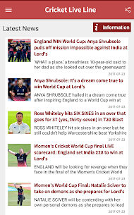 Cricket Live Line App Latest Version Download For Android and iPhone 3