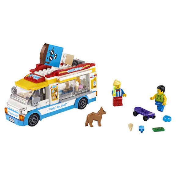 Contenido de Lego® 60253 Camión de los Helados
