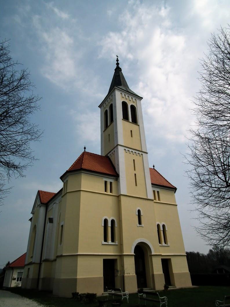 Domanjševci (Domonkosfa) -  evangeličanska cerkev (evangélikus templom)