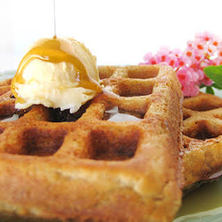 Buckwheat Groats & Oats Waffles.