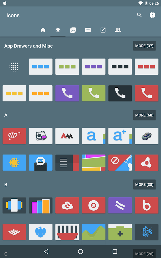 Tendere 3.0 - Icon Pack- screenshot