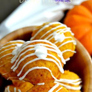 Pumpkin Marshmallow Donut Holes