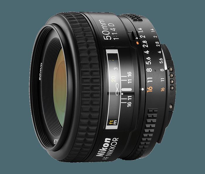 Nikon 50mm f / 1,4 AF-D