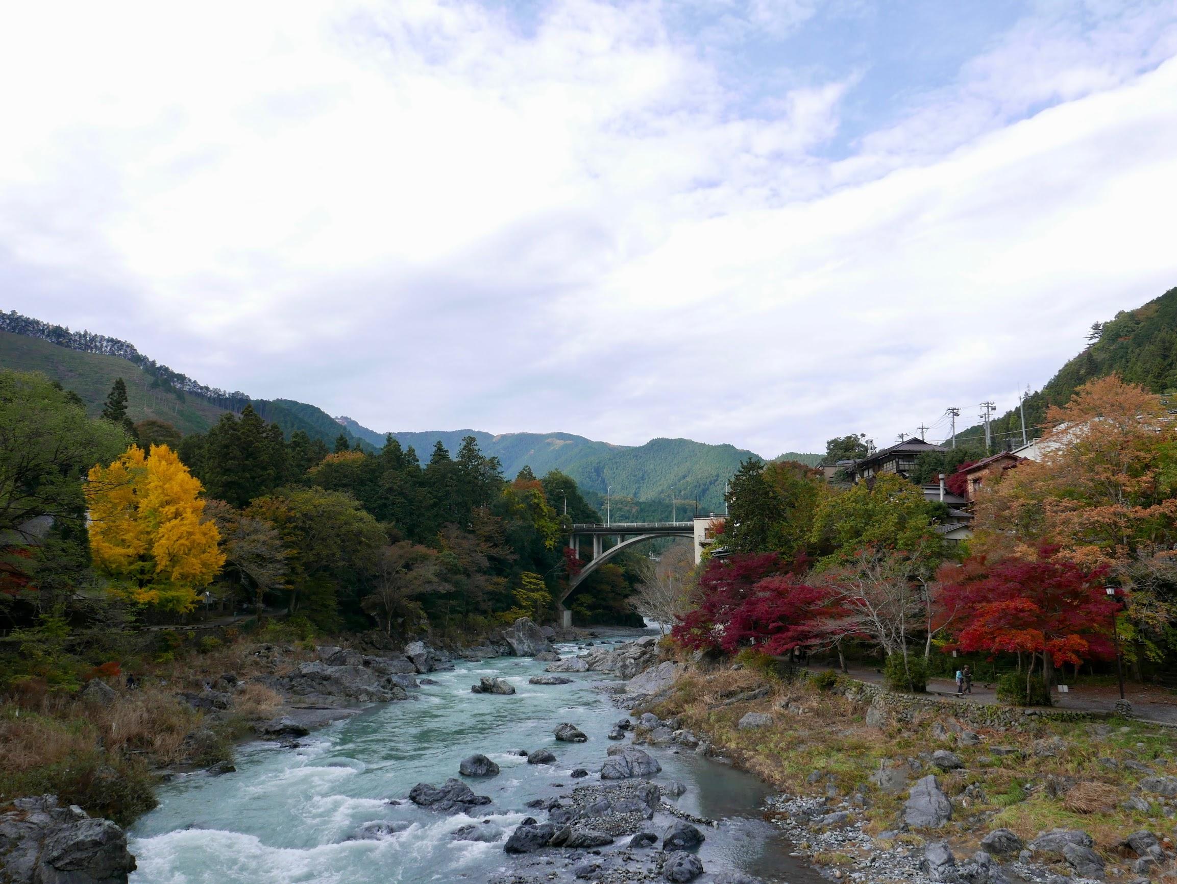 東京都青梅市御岳溪谷遊步道