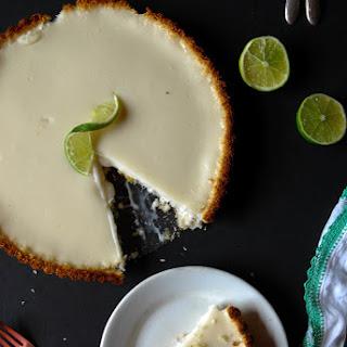Vegan Key Lime Pie with Coconut Crust