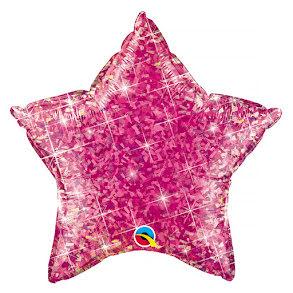 Folieballong, Rosa stjärna