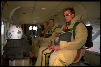 Photo: Smokejumpers in Grand Junction, CO, getting ready for dispatch to a wildfire.