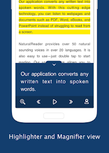 Text to Speech - NaturalReader Screenshot