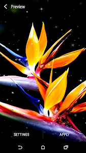 Exotic Flowers Live Wallpaper screenshot 3