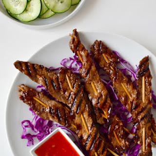 5-Ingredient Beef Satays