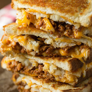 Epic Breakfast Grilled Cheese Sandwich.