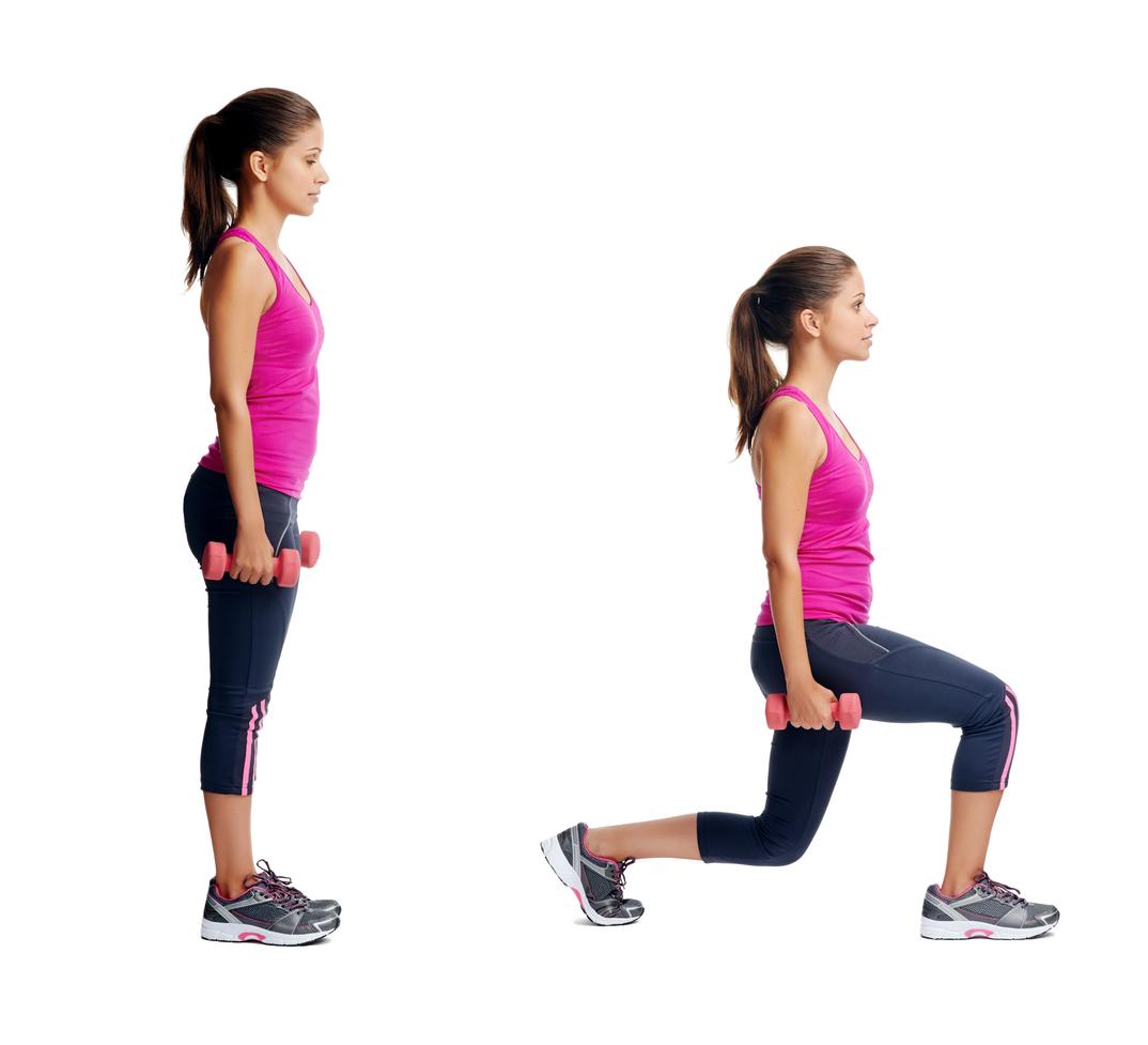 Výpady ako účinný cvik na spodnú časť tela