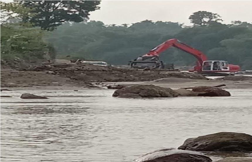 Galian C Ilegal Desa Namorih Dusun II Kuala Resahkan Warga , Polda Sumut dan Polrestabes Medan diminta Segera Gerebek