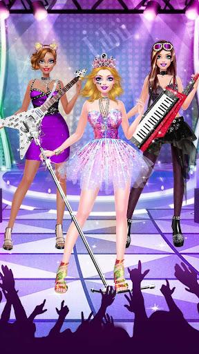 Music Girl Makeup Salon - Rock Star Dress Up  screenshots 4