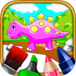 Kids Coloring & Painting World Icon