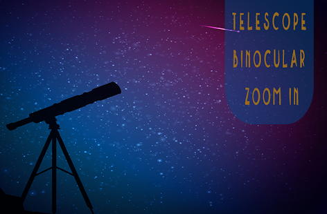 Telescope Binocular Zoom in + - náhled