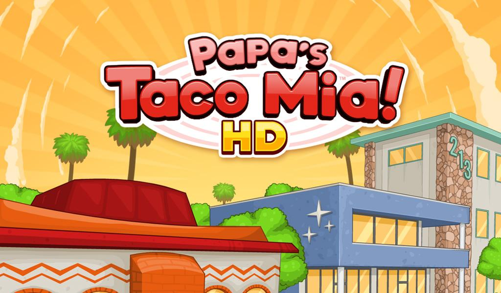 Papa's Taco Mia HD- screenshot